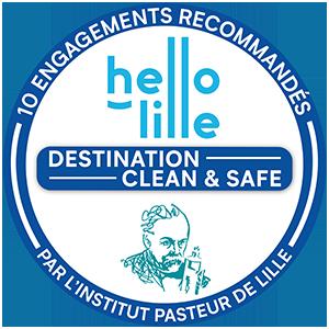 Hello Lille Clean et Safe Institut pasteur de Lille