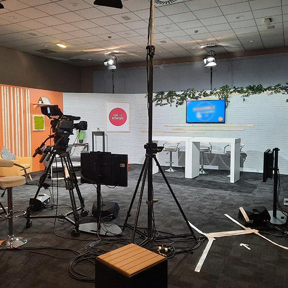 Studio TV connecté Lille Cité des échanges